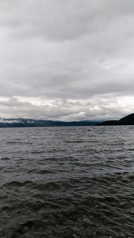 洞爺湖でノンビリ
